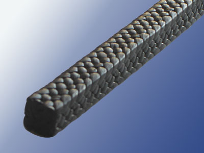 PTFE braided packing with graphite(IG-028)